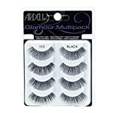 Ardell Multipack 105 False Lashes, Glamour Fake Eyelash, 1 pack x 4 pairs