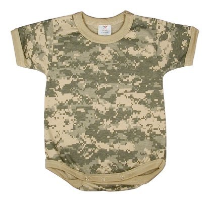 Rothco Infant One-Piece, Acu Digital Camo, 12-18 months