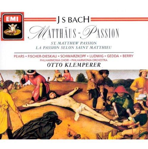 Bach: Matthäus-Passion (St. Matthew Passion) by EMI Classics
