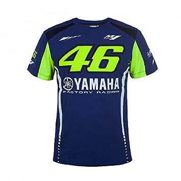 Valentino Rossi Camiseta Yamaha Factory M1 Oficial, Moto GP, New 2018.: Amazon.es: Coche y moto