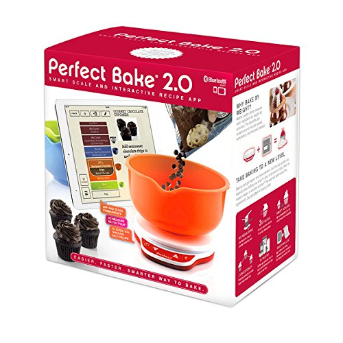 perfect bake 2 0 smart scale and recipe app kitchen tool