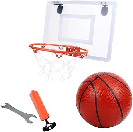 LIOOBO 4pcs niños Colgando Juguetes de Tiro de Baloncesto montado ...