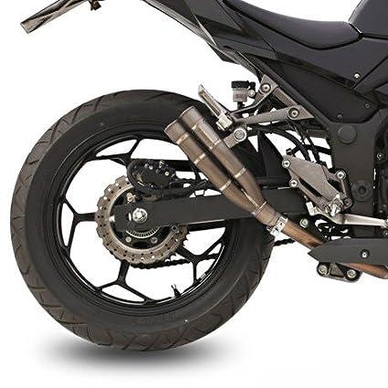 Escape Mivv Double Gun Kawasaki Ninja 300 13-16 Full titanio ...