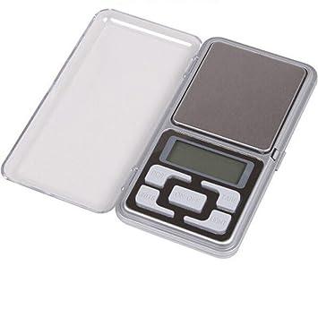 Dzt1968 ® 200 g x 0,01 G báscula Digital joyas oro Herb LCD equilibrio peso gramo tamaño de bolsillo: Amazon.es: Hogar