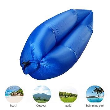 TZTED Tumbona Hinchable para Dormir sofá Inflable portátil ...