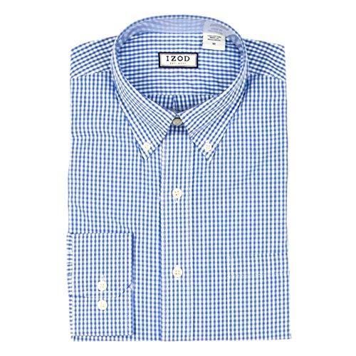 Buy light blue and white checkered dress - 3