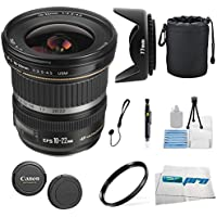 Canon EF-S 10-22mm f/3.5-4.5 USM SLR Lens for EOS Digital SLRs + Essential Expo-Accessory Bundle