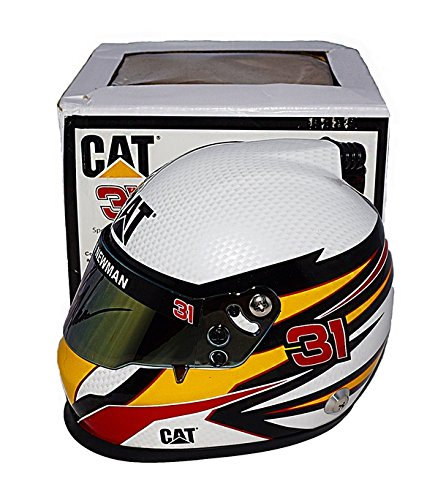 Nascar Racing Collectibles - AUTOGRAPHED 2017 Ryan Newman #31 Caterpillar CAT Team (Richard Childress Racing) Monster Energy Cup Series Signed Lionel 1/2 Scale NASCAR Collectible Replica Mini Helmet with COA