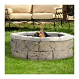 Pantheon Limestone 30″ Fire Pit For Sale