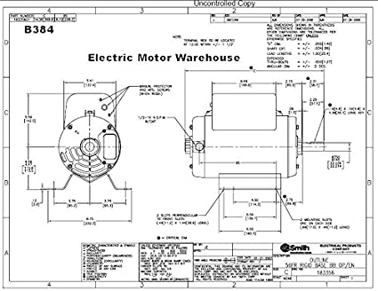 51jcobfcgSL._SX425_ 5 hp 3450 rpm r56y frame 208 230v air compressor motor century century b384 wiring diagram at reclaimingppi.co