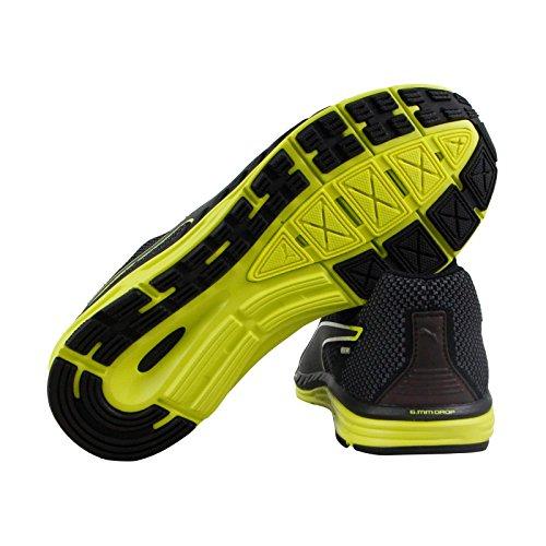 Puma Speed 500 Ignite Nightcat 2 Heren Zwarte Textiel Atletische Hardloopschoenen