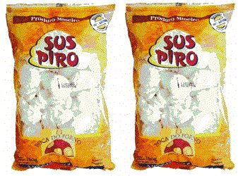 Suspiro Boca do Forno 160 grs. - 2 Pack/Meringue Cookies 5.6 oz. - 2 Pack