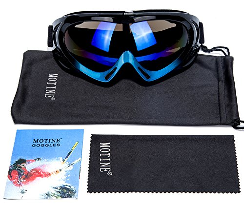 MOTINE Outdoor Sports Ski Goggles,UV Protection Windproof Ski Glasses for CS Army Tactical Military,Snowmobile,Bicycle,Motorcycle - Dragon Sunglasses Cheap