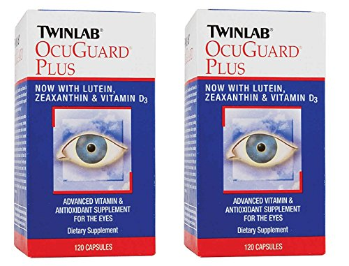 TwinLab - Ocuguard Plus W/Lutein, 120 capsules (Set of 2)