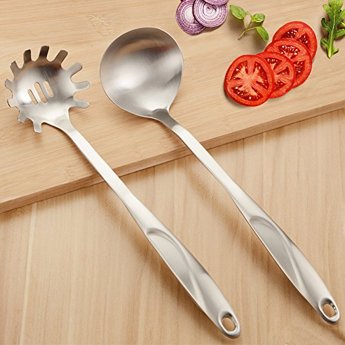 stainless noodle spoon - 4