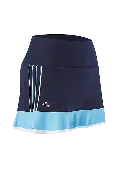 Naffta Tenis Padel - Falda-pantalón para mujer, color azul ...