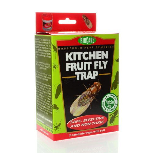 Springstar S415 BioCare Kitchen Fruit Fly Trap 2 Pack