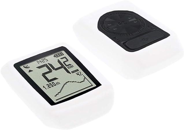 foto-kontor Funda para Sigma Pure GPS Protectora Silicona Carcasa protecci/ón Negra