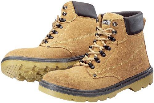 Draper 49335 Chaussures de sécurité Embout et semelle intermédiaire en métal S1PA Daim beige Pointure 44 (Import Grande Bretagne)
