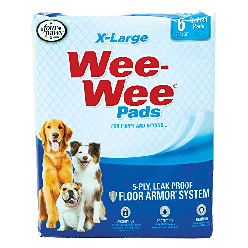 Wee-Wee XL Puppy Pee Pads for Larger or Multiple Dogs
