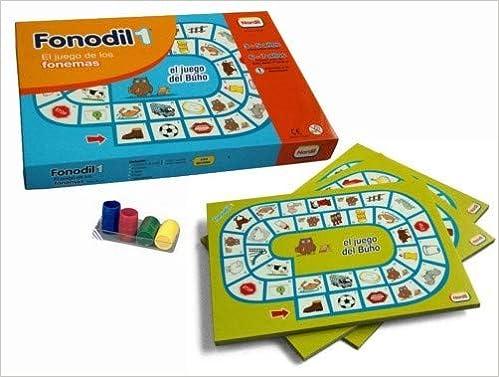Fonodil 1 (el juego de los fonemas)(de 3 a 5 años): Amazon.es: Libros