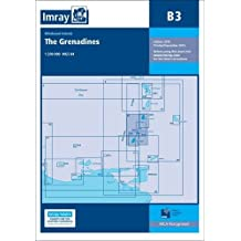 Imray Chart B3: The Grenadines- St Vincent to Grenada