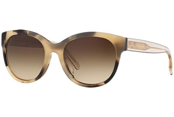 Burberry BE4187, Gafas de Sol para Mujer, Marrón (Light Horn ...