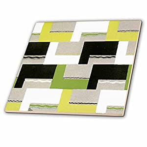 TNMGraphics Abstract Designs - Pieces of Picture Frames - 6 Inch Glass Tile (ct_41032_6)