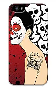 iPhone 5S Case, iPhone 5 Cover, iPhone 5S Macabre Madness Hard Cases