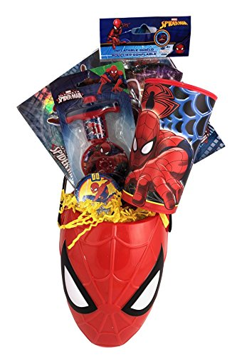 Spiderman Theme Assorted Gift Basket Box Set for Boys Birthday, Get Well, Surprise Just Because