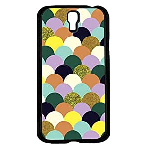 Colorful Glitter Scales Hard Snap on Phone Case (Galaxy s4 IV)