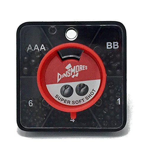 Dinsmores Super Soft - Non Toxic Fishing Shot - 5 Way Dispenser - AAA, BB, No 1, 4,6