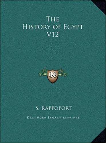 Book The History of Egypt V12