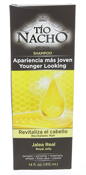 Tio Nacho Royal Jelly Revitalizing Shampoo 415ml - Jalea Real Revitalizando Champu (Pack of 6