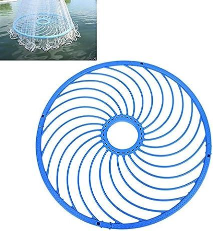 2 Set Cast Net Ring Fishing Accessory American Network Ring Catch Fishing Net