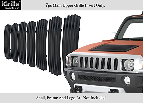 - APS Compatible with 2006-2010 Hummer H3 Stainless Steel Billet Grille Insert C66458J