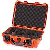 Nanuk DJI Drone Waterproof Hard Case with Custom Foam Insert for DJI Mavic PRO - Orange
