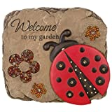 Carson - BEADWORK GARDEN STEPPING STONE - LADYBUG WELCOME