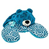 Animal Adventure Popovers Travel PillowBlue BearTransforms from...
