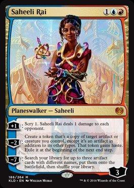 Magic: the Gathering - Saheeli Rai (186/264) - Kaladesh