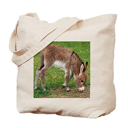 CafePress–recién nacido burro potro Tote Bag–Natural gamuza de bolsa de lona bolsa, bolsa de la compra