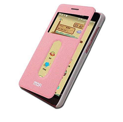 timeless design 20311 e9436 mofi Premium Flip Cover Case For Lenovo S850 (Pink)