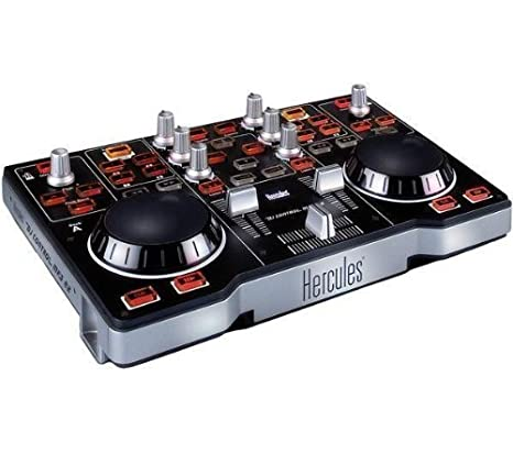 HERCULES DJ Control MP3 E2 + Tarjeta de sonido Externa USB iCONNEX ...