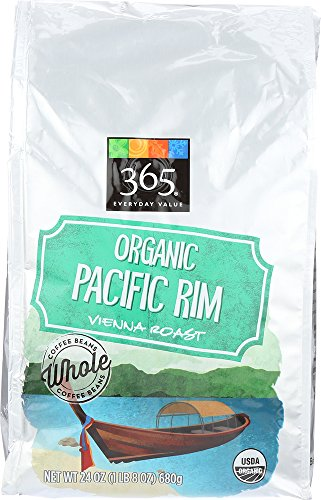 365 Everyday Value, Organic Pacific Rim Vienna Roast Whole Bean Coffee, 24 oz