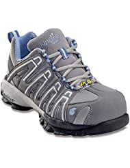 Nautilus Womens ESD Soft Toe Sneakers,Gray,8.5 M