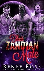 Their Zandian Mate: An Alien Warrior Reverse Harem Romance (Zandian Masters Book 9)