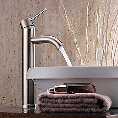 vessel faucet brushed nickle - 4
