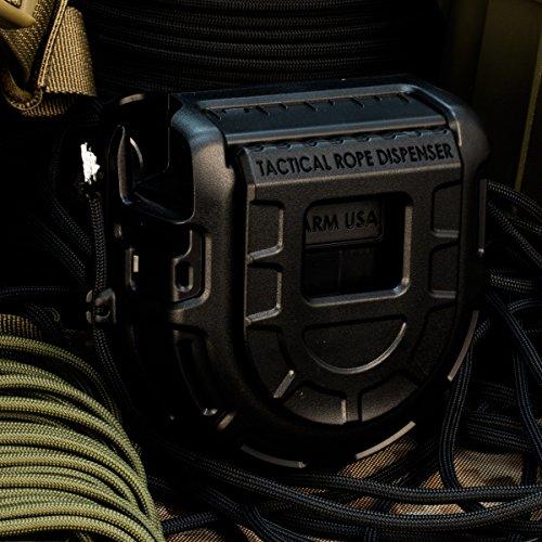 Atwood Rope MFG Tactical Rope Distributeur de cordes Noir 5