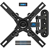 Mounting Dream Full Motion TV Wall Mount for Most 26-55 Inch TVs, TV Wall Bracket with Swivel Articulating Arms, Perfect Center Design TV Mounts Wall, up to VESA 400x400mm and 60 LBS MD2413-CA
