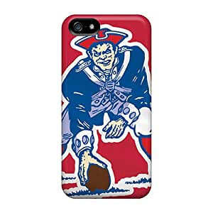 Durable Hard Phone Case For Iphone 5/5s (wsx16137yPxn) Customized Colorful New England Patriots Image